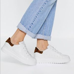 Nasty Gal White Sneakers